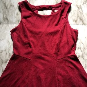 LC Lauren Conrad Red Cocktail Dress